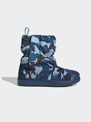 Ботинки в камуфляжный принт | 5585154