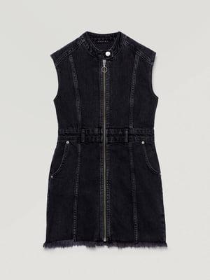 Сарафан черный джинсовый | 5547448