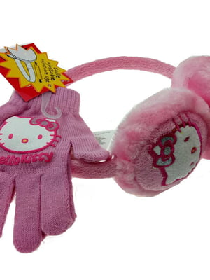 Комплект: наушники и перчатки   5586625