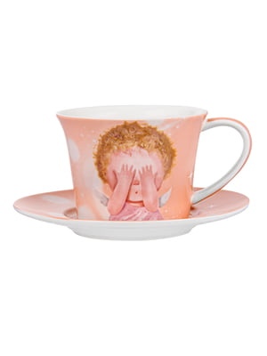 Чайний набір: чашка і блюдце | 5587538