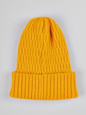 Шапка желтая | 5588395