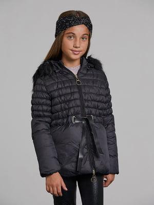 Куртка чорна | 5588408
