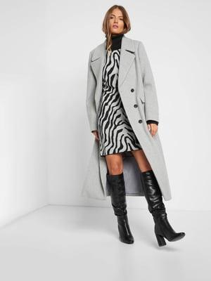 Пальто сіре   5588107