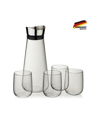 Набор: графин (1.3 л) и стаканы (4 шт) | 5583760