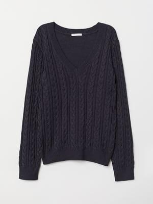 Пуловер синий | 5548319