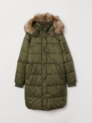 Куртка кольору хакі | 5579084