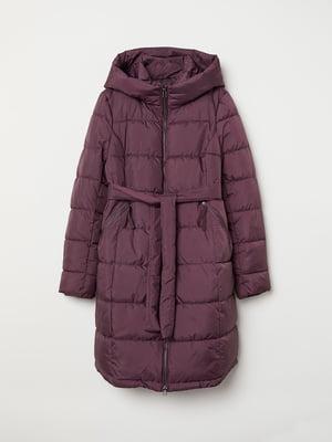 Пальто для беременных фиолетовое | 5583357
