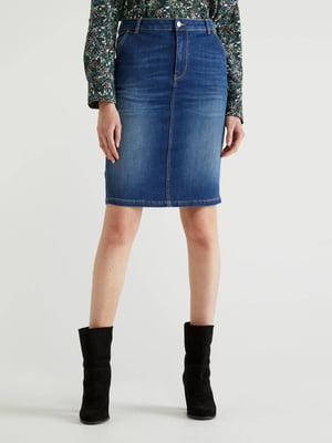 Спідниця синя джинсова | 5569332