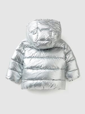 Куртка серебристого цвета | 5588602