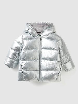 Куртка серебристого цвета   5588602