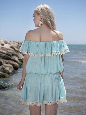 Блуза бірюзового кольору | 5589071