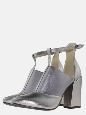 Туфли стального цвета | 5579242