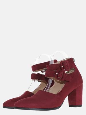 Туфли бордовые | 5579244