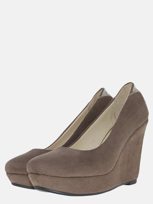 Туфлі кольору кави | 5586650