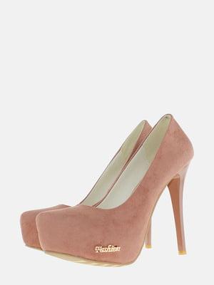 Туфли коричневые   5586653