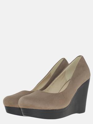 Туфлі кольору кави | 5586654