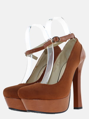Туфлі рудого кольору | 5589741