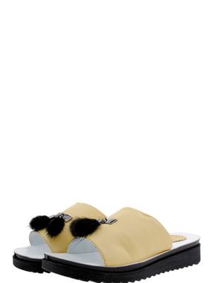Шлепанцы желтые | 5395909