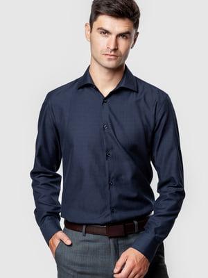 Рубашка темно-синяя | 5590308