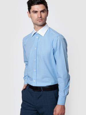 Рубашка голубая   5590309