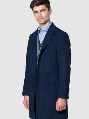 Пальто синее | 5590311