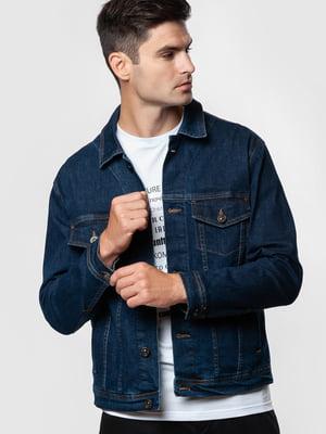 Куртка джинсовая синяя | 5590313