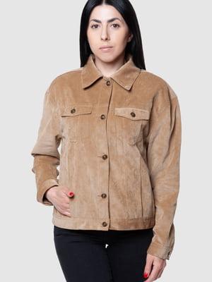 Куртка-жакет бежева | 5590338