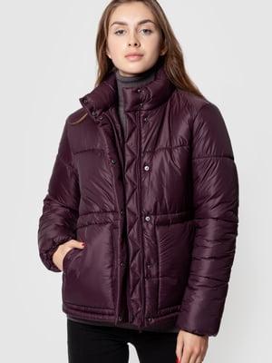 Куртка бордовая | 5590339