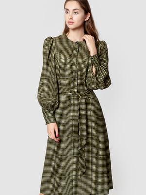 Платье цвета хаки | 5590359