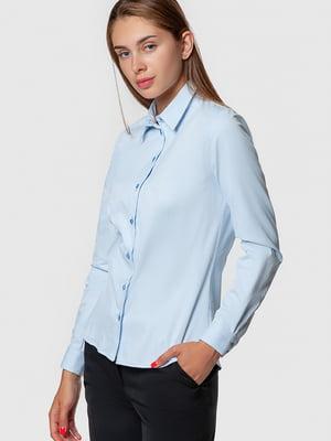Рубашка голубая | 5590373
