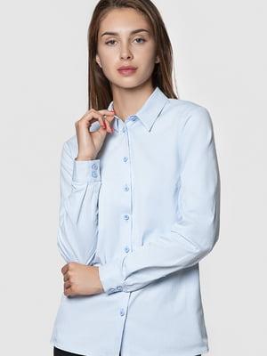 Рубашка голубая | 5590375