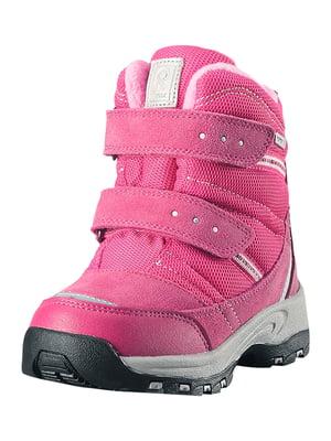Ботинки цвета фуксии | 5331153