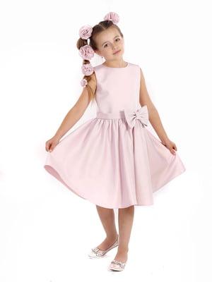 Сукня кольору пудри | 5590485