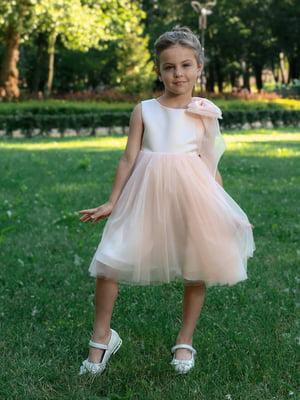 Платье персикового цвета | 5590486