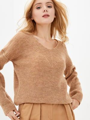 Пуловер пісочного кольору | 5563483