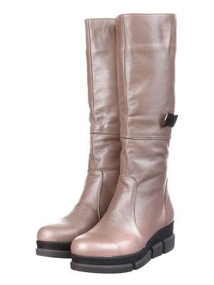 Сапоги коричневые   5305765