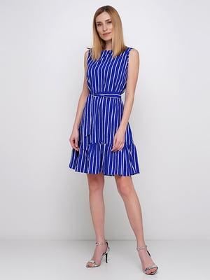 Сукня синя в смужку | 5591549