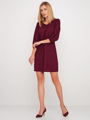 Сукня бордова | 5591629