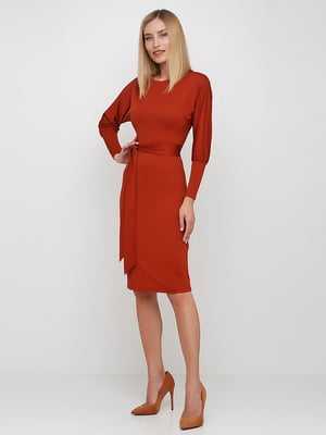 Сукня теракотового кольору | 5591672