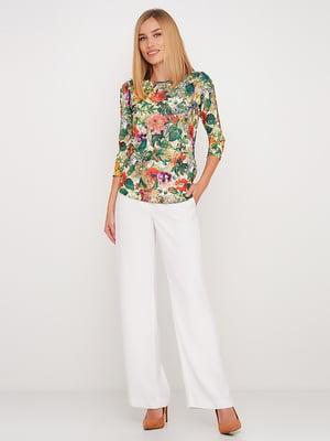 Блуза в квітковий принт | 5591701