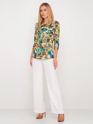 Блуза в цветочный принт | 5591702