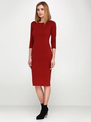 Сукня теракотового кольору | 5591704