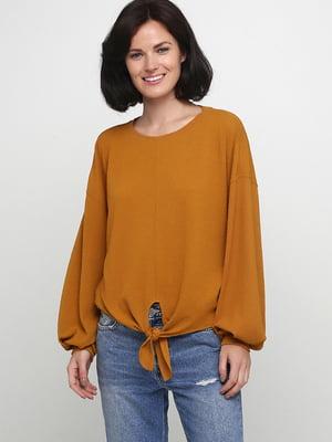 Блуза горчичного цвета | 5589718
