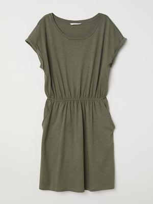 Платье цвета хаки | 5589730