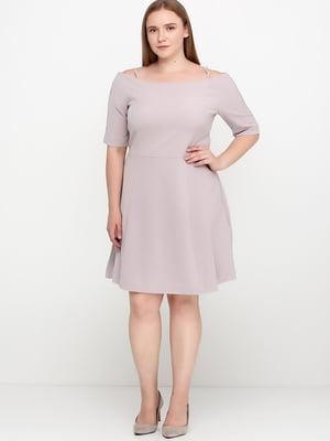 Сукня кольору пудри | 5589748