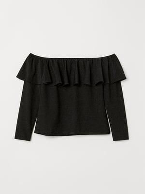 Блуза черная   5589905