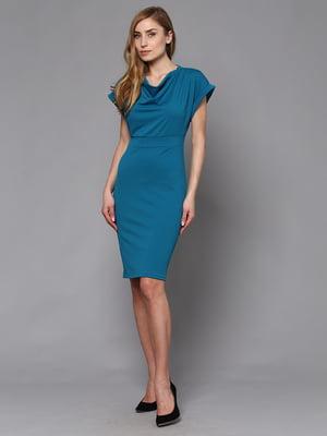 Платье бирюзовое | 5591662