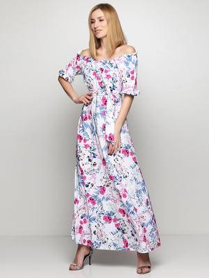 Платье в цветочный принт | 5591665