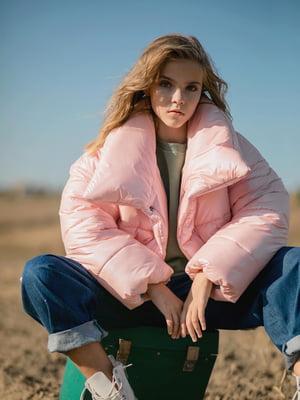 Куртка рожева | 5590628