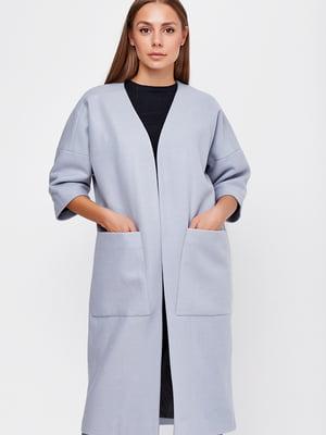 Пальто голубое | 5592213